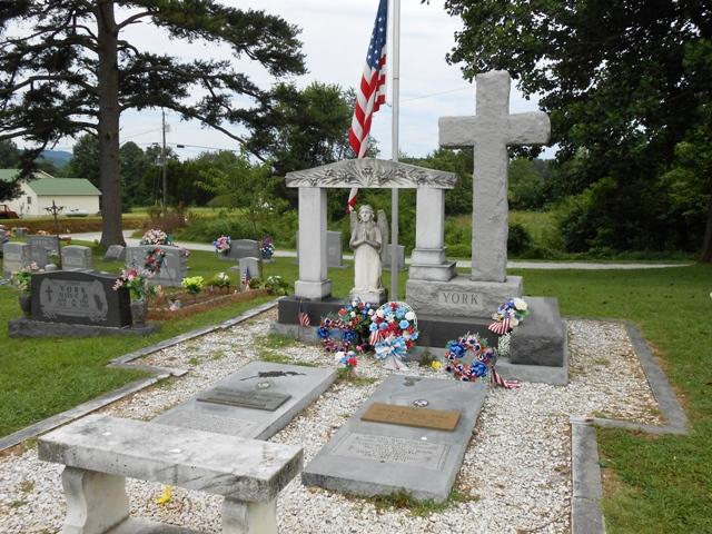 York's grave.