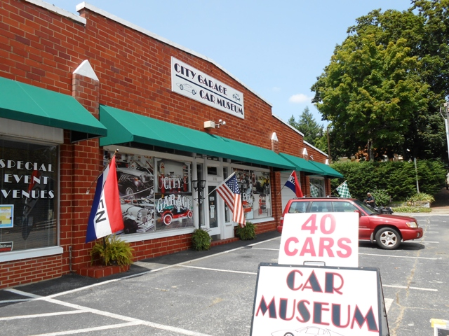 City Garage Car Museum in Greeneville, TN