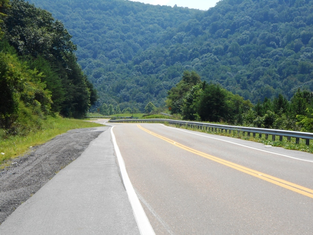 Heading into Pikeville.