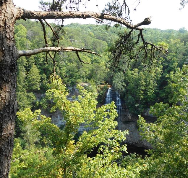 Nearing the Falls.