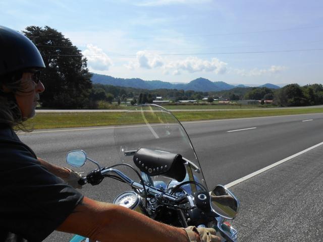 On 314 south heading toward 64/74.