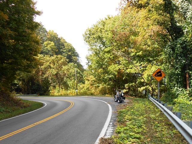 Highway 70 heading toward Rogersville.