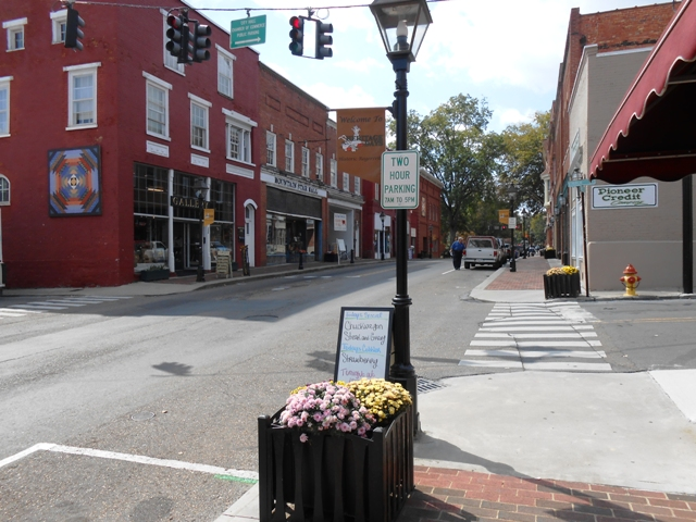 Downtown Rogersville, TN.