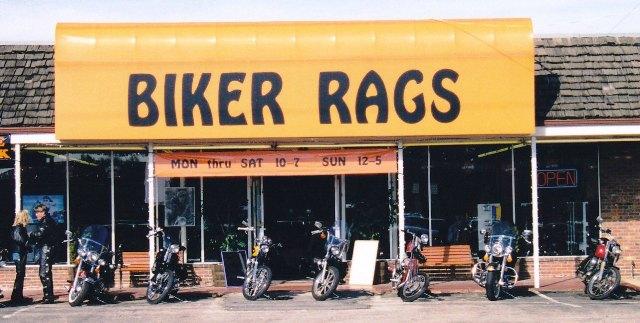 Biker Rags on Kingston Pike in 1996.