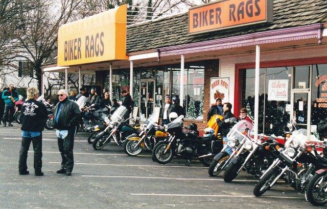 One longer Biker Rags in 2001.