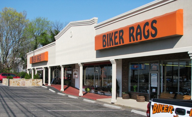 Biker Rags today on Kingston Pike.