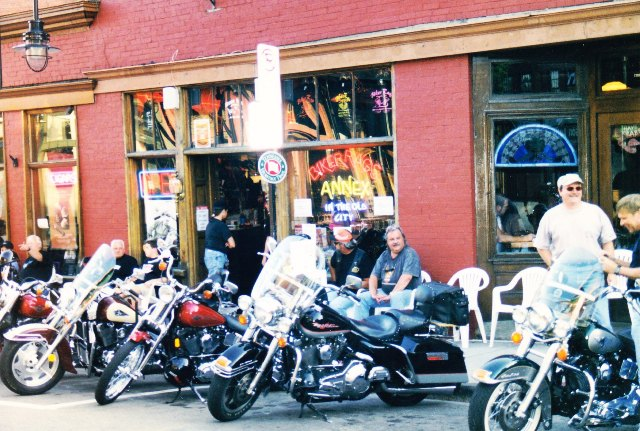 Biker Rags Annex... in the Old City 1999 - 2002