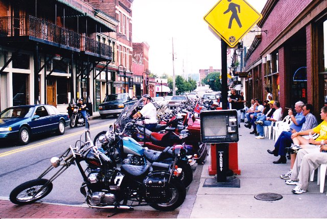 Old City Bike Nite promoted by Biker Rags.