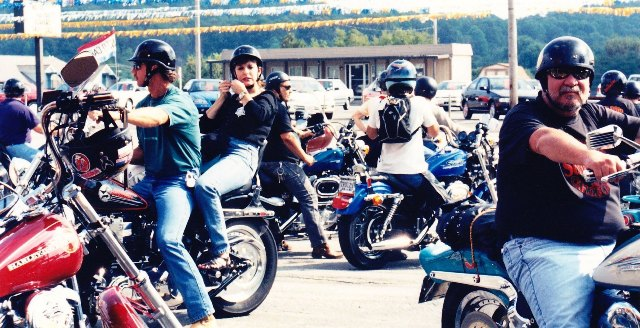 Biker Rags bike ride.