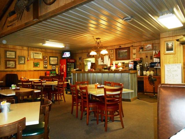 Inside Fireside Restaurant