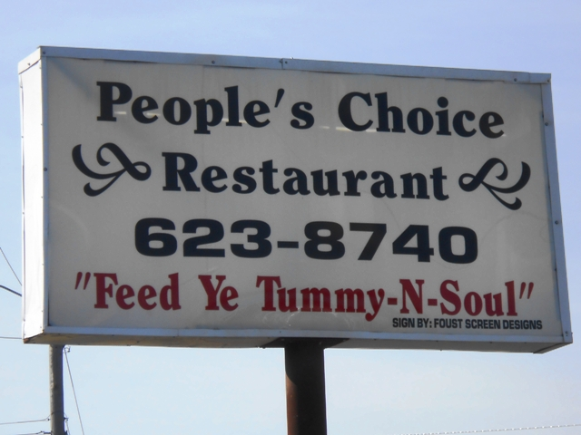 People's Choice Restaurant in Newport, TN
