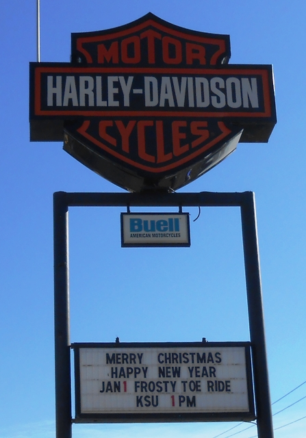 At Knoxville Harley Davidson on Clinton Highway.