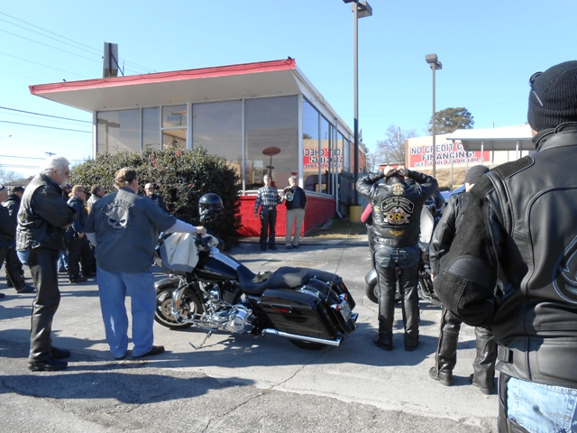 Blessing of the bikes.
