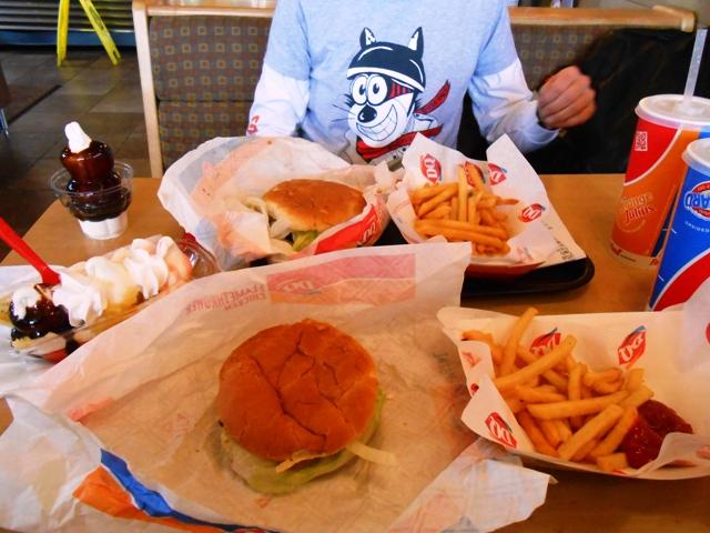 A big lunch!