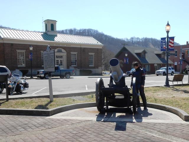 Livingston town square.