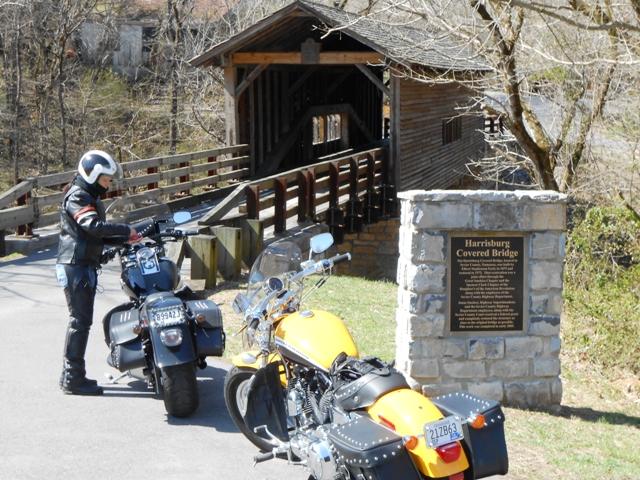 The Harrisburg Covered Bridge