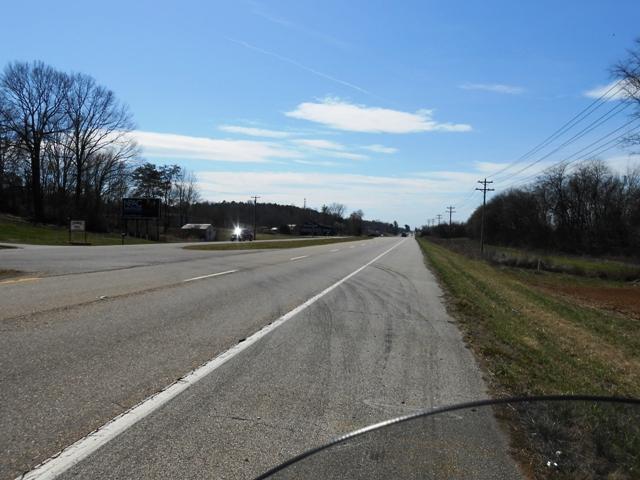 Heading down 11E toward Knoxville.