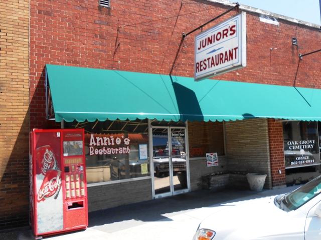 Annie's in Rockwood, TN.