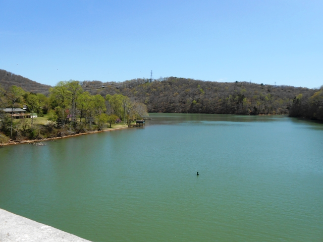 View of Emory River.