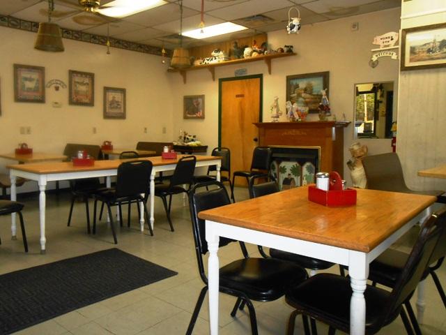 Inside Catie's Kitchen.