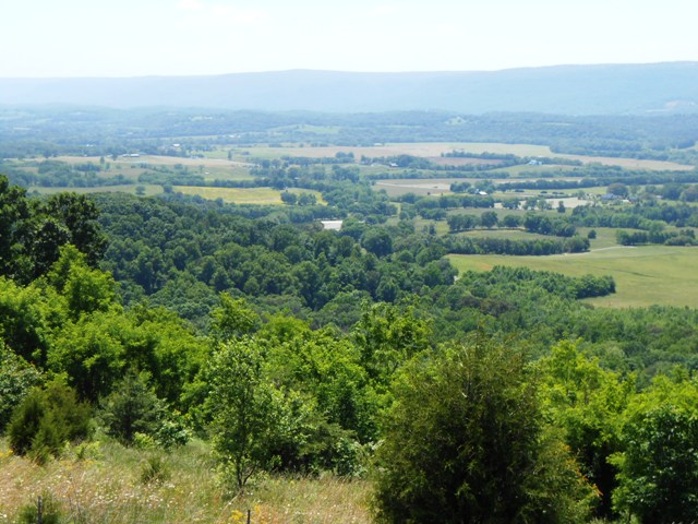 Scenic overlook. Dunlap is below and Walden's Ridge above.