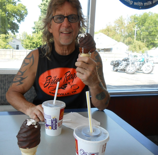 We really like McDonald's dip cones!