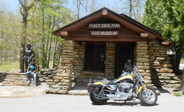 Museum in Pickett State Park.
