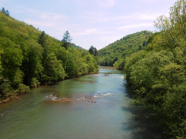 More beautiful scenery in the Big South Fork.
