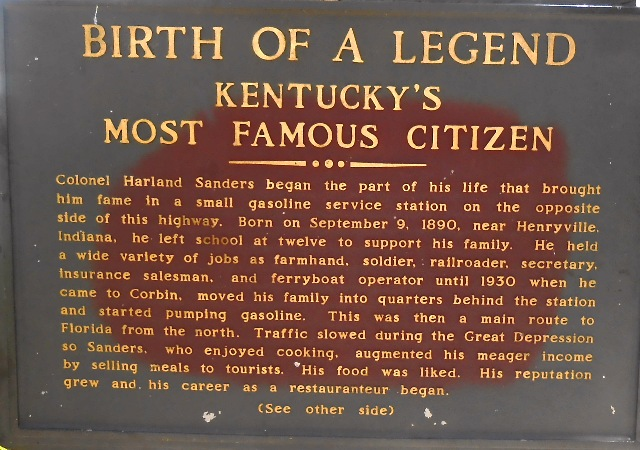 Informational plaque.