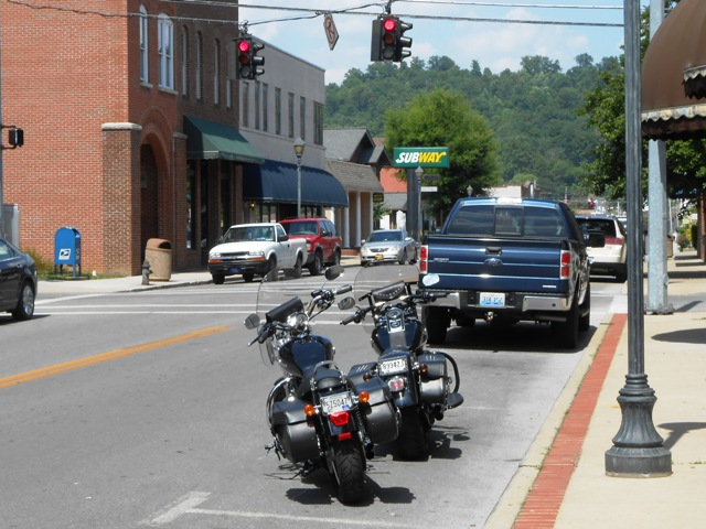 Downtown Barbourville.