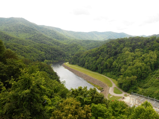 View from overlook.