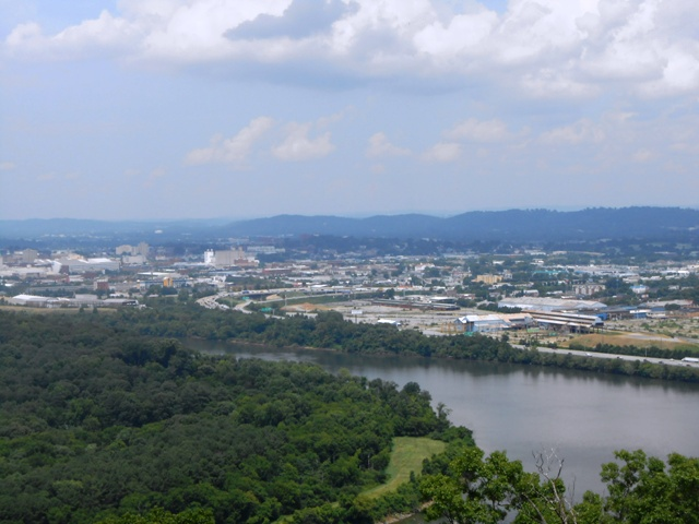 A great view of Chattanooga!