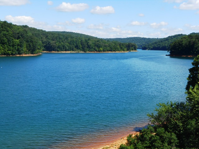 View of Norris lake. A beautiful area.