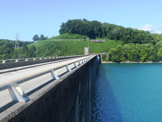 Norris Dam - A great place to take a break.