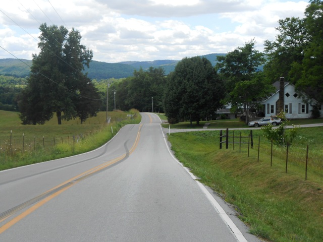 325 is a wonderful winding country road.
