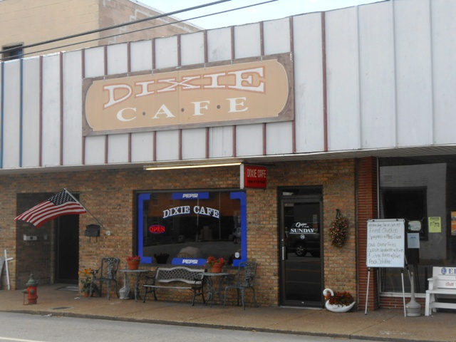 The Dixie Cafe in Brydstown, TN.