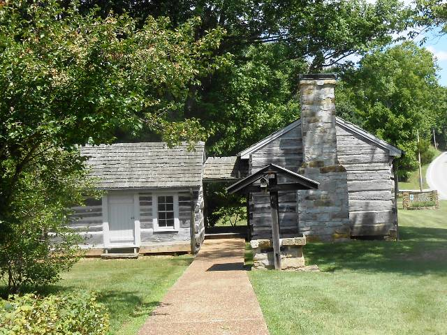 The early Cordell Hull cabin.
