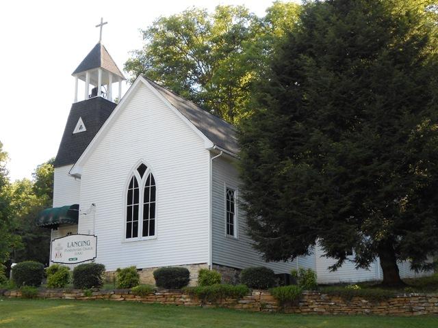 Church in Lancing, TN.