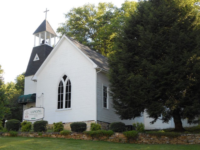 Church in Lancing, TN.