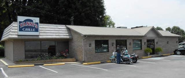 Yanni's Grille in Sparta, TN.