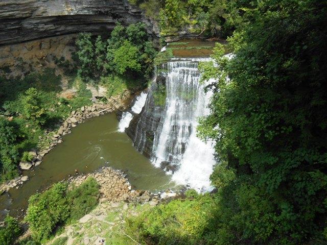 Burgess Falls. Spectacular!