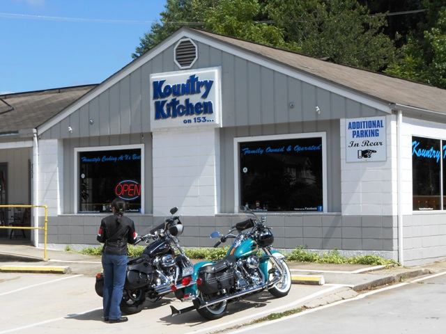 Kountry Kitchen in Franklin, NC.