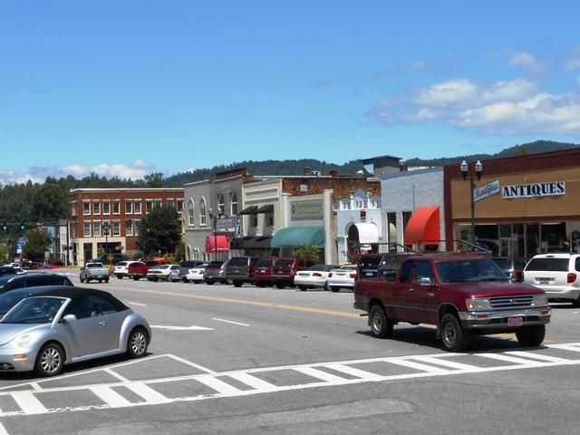 Downtown Murphy.
