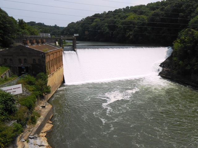 Nolichucky Dam right off 107 heading into Greeneville, TN.