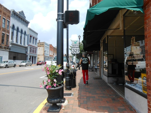 Downtown Greeneville.