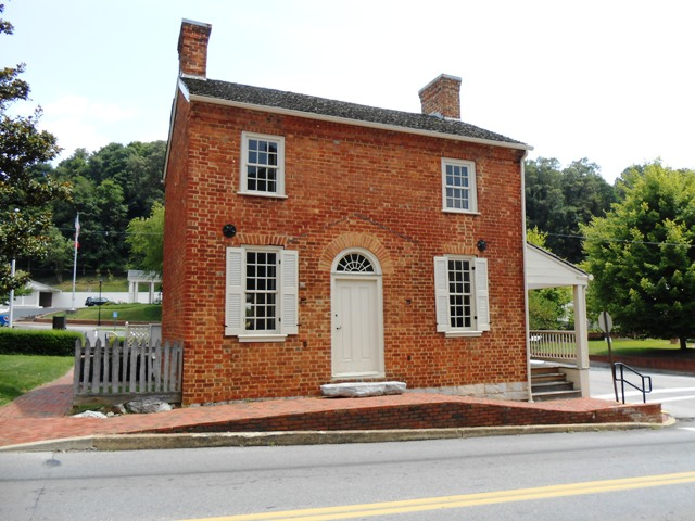 Early home of Andrew Johnson.