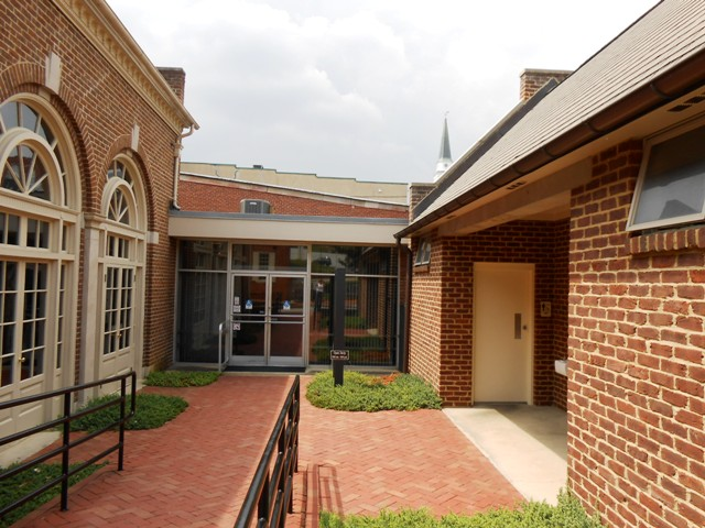 Start your tour at the Visitor Center.