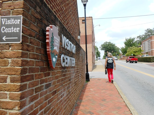 We left the Visitor Center and toured some of downtown Greeneville.