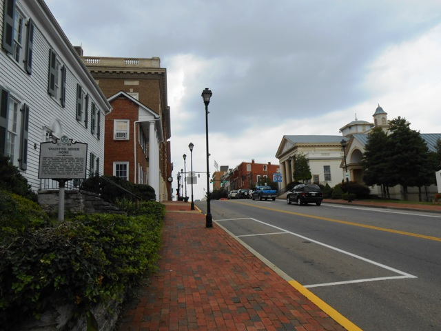 Many historic buildings in Greeneville, TN.