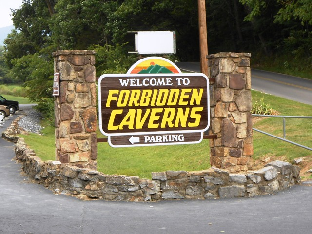 Forbidden Caverns on Blowing Cave Road